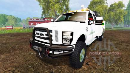 Ford F-350 Field Service v3.0 pour Farming Simulator 2015