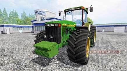 John Deere 8400 v1.5 pour Farming Simulator 2015