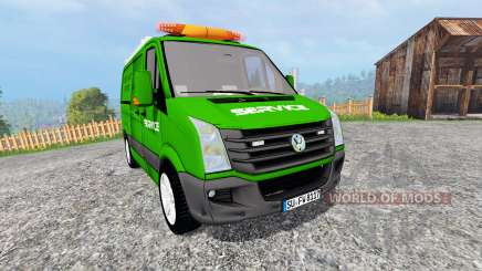 Volkswagen Crafter Service [pour galax] pour Farming Simulator 2015