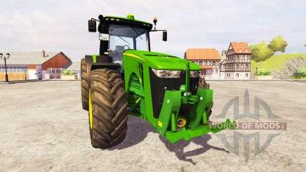 John Deere 8360R [front linkage] v2.1 für Farming Simulator 2013