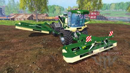 Krone Big M 500 [green and black] pour Farming Simulator 2015