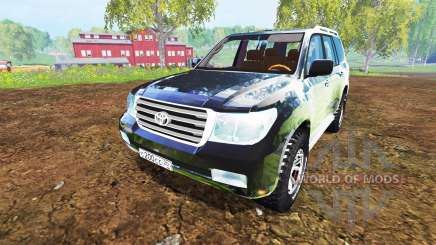 Toyota Land Cruiser 200 [Bergwacht Alpenberg] für Farming Simulator 2015