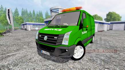 Volkswagen Crafter Service pour Farming Simulator 2015