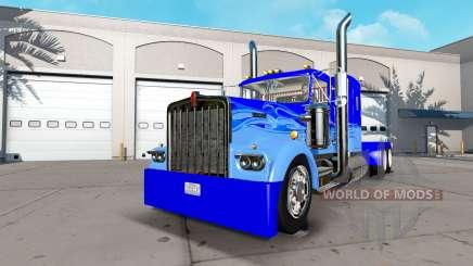 Kenworth W900A [custom] pour American Truck Simulator