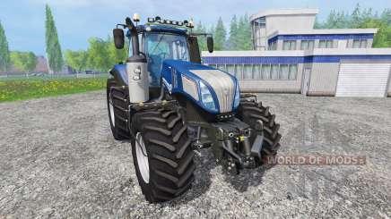 New Holland T8.420 [blue power] v1.0 pour Farming Simulator 2015