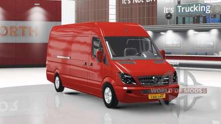 Mercedes-Benz Sprinter LWB v1.1 pour American Truck Simulator