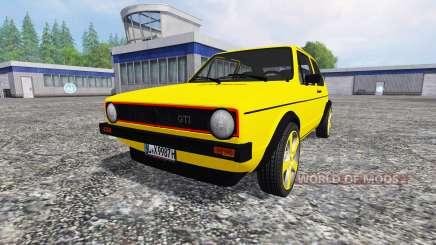 Volkswagen Golf I GTI [tuning] für Farming Simulator 2015