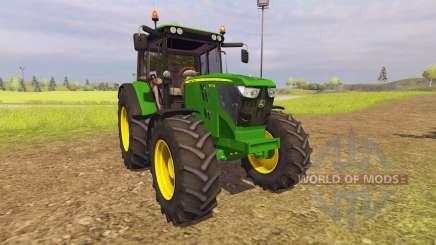 John Deere 6125M v2.0 pour Farming Simulator 2013
