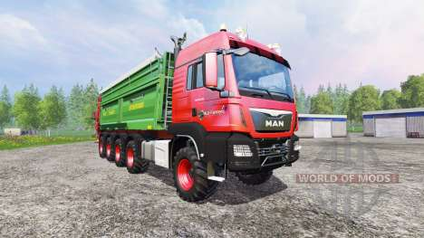 MAN TGS 10x8 [manure] für Farming Simulator 2015