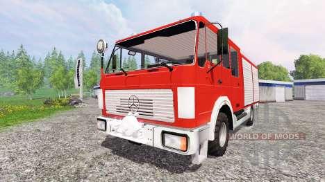 Mercedes-Benz 1222 [feuerwehr] für Farming Simulator 2015