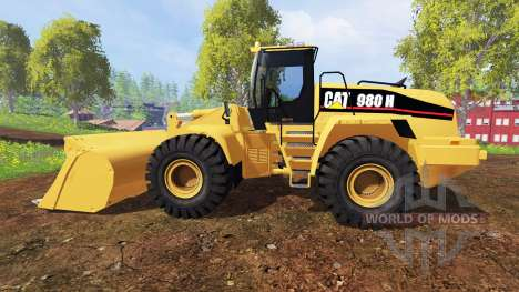Caterpillar 980H für Farming Simulator 2015