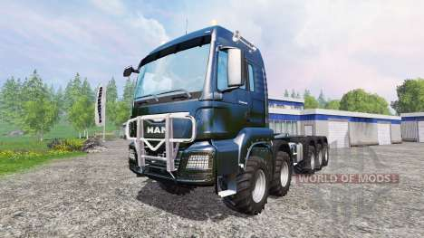 MAN TGS [container truck] pour Farming Simulator 2015