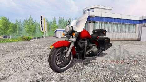 Harley-Davidson pour Farming Simulator 2015