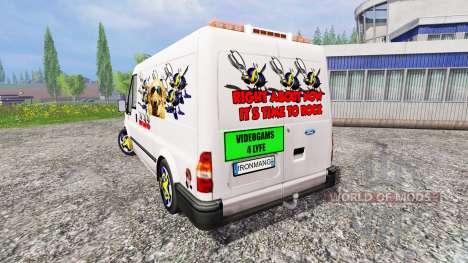 Ford Transit [party van] v2.0 für Farming Simulator 2015