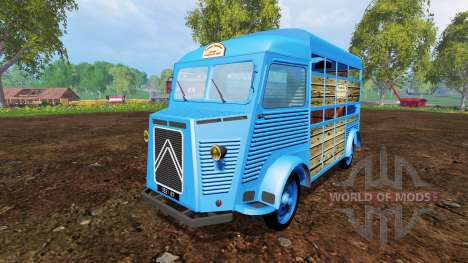 Citroen Type H v2.6 pour Farming Simulator 2015