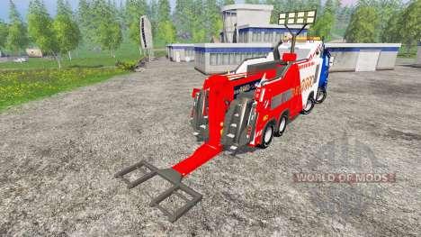 Mercedes-Benz Axor Depan 2000 pour Farming Simulator 2015