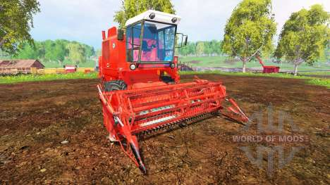 Bizon Z056 für Farming Simulator 2015