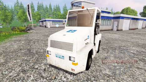 L'aérodrome de bagages tracteur pour Farming Simulator 2015