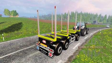 Riedler-Anhanger pour Farming Simulator 2015