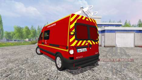Renault Master [sapeurs-pompiers] v2.0 für Farming Simulator 2015