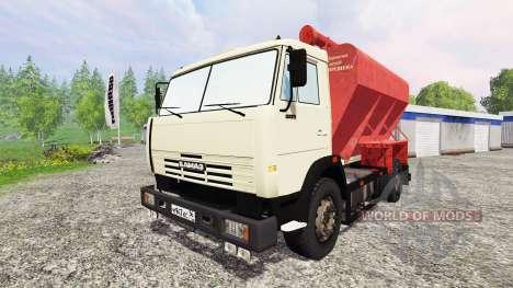 KamAZ-43253 pour Farming Simulator 2015