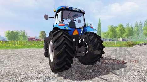 New Holland TG 285 v2.0 pour Farming Simulator 2015