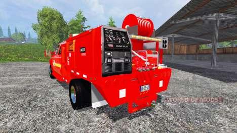Ford F-350 [feuerwehr] pour Farming Simulator 2015