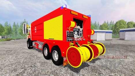 Mercedes-Benz Unimog CCFS pour Farming Simulator 2015