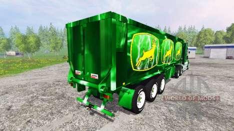Kenworth T908 [John Deere Service] pour Farming Simulator 2015