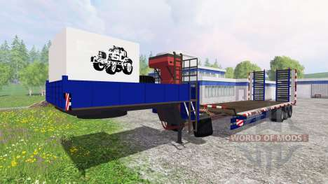 Le chalut pour Farming Simulator 2015