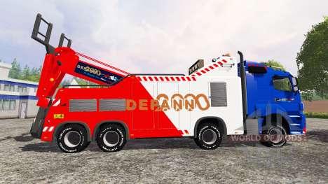 Mercedes-Benz Axor Depan 2000 für Farming Simulator 2015