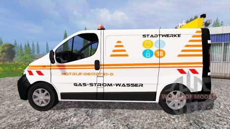 Renault Trafic [stadtwerke] pour Farming Simulator 2015