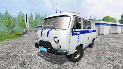 UAZ-3909 Polizei für Farming Simulator 2015