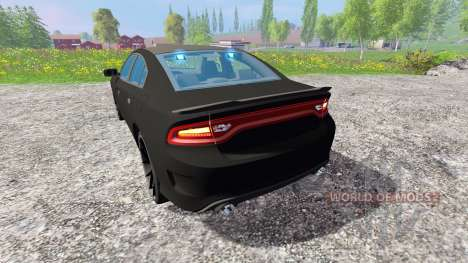Dodge Carger Hellcat 2015 Undercover pour Farming Simulator 2015