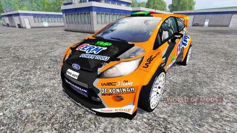 Ford Fiesta WRC für Farming Simulator 2015