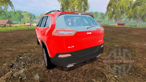 Jeep Cherokee KL 2014 [feuerwehr] pour Farming Simulator 2015