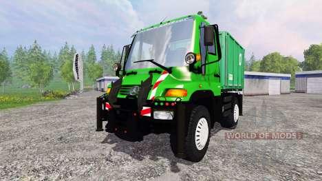 Mercedes-Benz Unimog U400 v1.3 pour Farming Simulator 2015