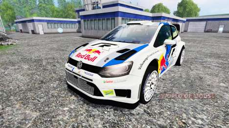 Volkswagen Polo WRC Red Bull für Farming Simulator 2015