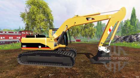 Caterpillar 325C pour Farming Simulator 2015