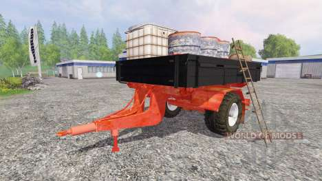Uniaxiale d'entretien de remorques de pour Farming Simulator 2015