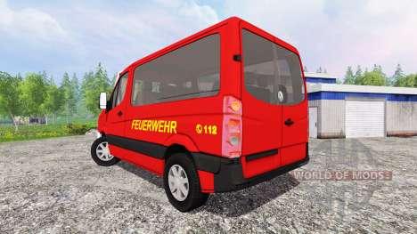 Volkswagen Crafter [feuerwehr] für Farming Simulator 2015