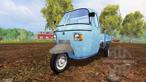 Piaggio Ape P601 für Farming Simulator 2015