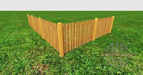 Wooden fence für Farming Simulator 2015
