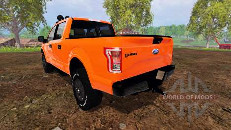 Ford F-150 2015 pour Farming Simulator 2015