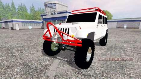 Jeep Wrangler für Farming Simulator 2015