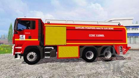 MAN TGS CCGC pour Farming Simulator 2015