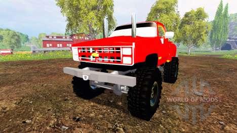 Chevrolet K5 Blazer v1.0 pour Farming Simulator 2015