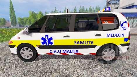 Renault Espace SAMU für Farming Simulator 2015