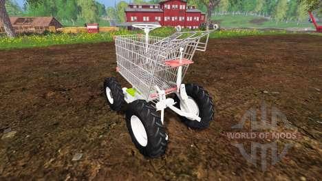 Manuel panier d'épicerie pour Farming Simulator 2015