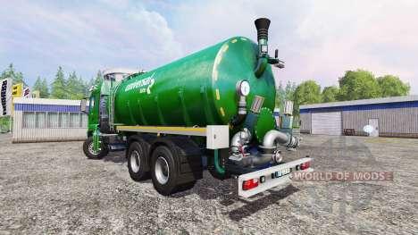 MAN TGS 18.440 [liquid manure] v3.1 pour Farming Simulator 2015